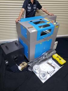 レーザー加工機  RD4030-50w 新型液晶 人気機種 小型高性能レーザーカッター フルセット CO2レーザー彫刻機 サンマックス