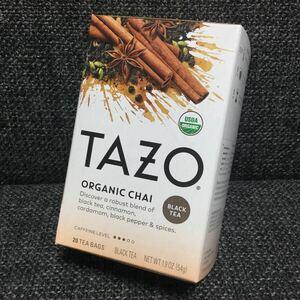 TAZO tea タゾ ティー★チャイ オーガニック★紅茶★スタバ
