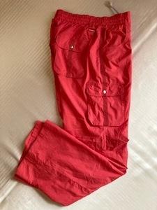 ルコック le coq sportif パンツ サイズL ウエストゴム ひも ベルト通し 裏メッシュ生地 ピンク色 用途多数