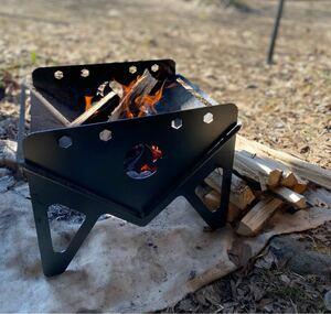 黒皮鉄板 オリジナル 焚き火台