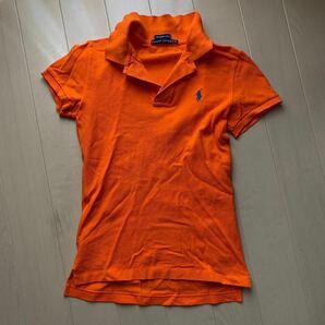 RALPH LAUREN ラルフローレン ポロシャツ オレンジ系 サイズM レディース
