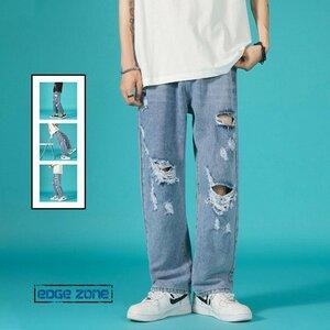 デニムパンツ メンズ Gパン ジーンズ ジーパン ダメージパンツ デニムパンツ メンズ Gパン ジーンズ ジーパン ダメージパンツ ゆったり