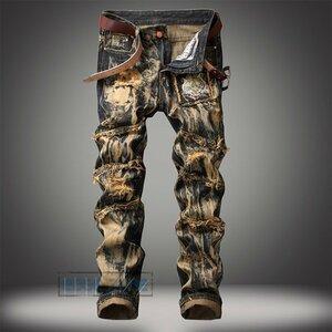 ジーンズ メンズ ジーパン デニムパンツ パンツ 50代 夏 ジーンズ メンズ ジーパン デニムパンツ パンツ デニム Gパン ボトムス 個性 ダメ