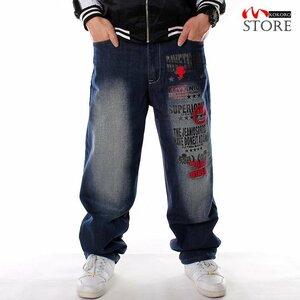 デニムバギーパンツ メンズ ワイドパンツ ジーンズ デニム デニムバギーパンツ メンズ ワイドパンツ ジーンズ デニムパンツ ロング丈 ボ