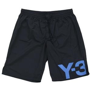 Y-3 ワイスリー adidas アディダス Yohji Yamamoto ヨウジヤマモト M SWIM L SHORT FS4482 水着 ショートパンツ メンズ ブラック 黒 ロゴ