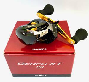 """新品未使用品 SHIMANO GENPU XT151 シマノ ベイトリール(左利き用)""""ゲンプウ"""" (カレイ、カワハギ、太刀魚等)"""
