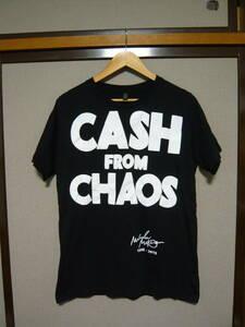 未使用 Malcolm McLaren CASH FROM CHAOS ブラック ヴィヴィアンウエストウッド セディショナリーズ マルコムマクラーレン peel&liftン