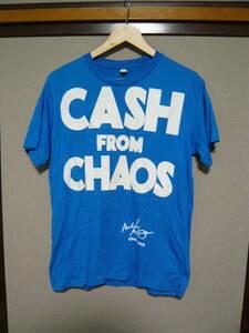 未使用 Malcolm McLaren CASH FROM CHAOS ブルー S ヴィヴィアンウエストウッド セディショナリーズ マルコムマクラーレン peel&lift ン