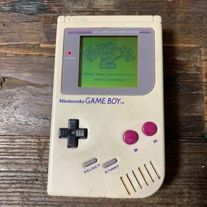 初代ゲームボーイ ソフト付き