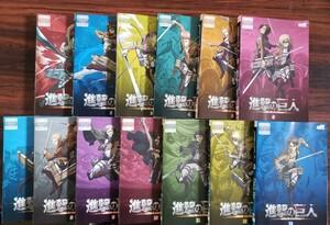 レンタル版DVD 進撃の巨人 全13巻