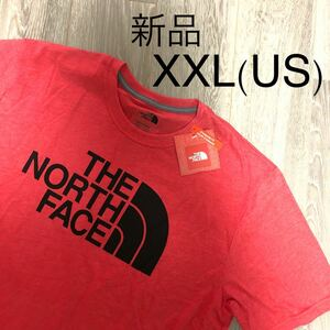 THE NORTH FACE ハーフドーム ビッグロゴ 半袖Tシャツ 海外限定 ロングTシャツ ロゴTシャツ ロゴ