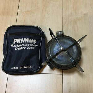PRIMUS イワタニ プリムス シングルバーナー ガスバーナー 2243/2244 点火装置 ケース付き Iwatani