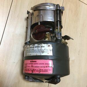 コールマン Coleman ガソリンストーブ シングルバーナー M1950 1981年製