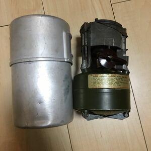 コールマン Coleman ガソリンストーブ シングルバーナー M1950 、1952年製