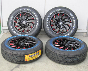 200系 ハイエース レジアスエース 16インチ 国産 車検対応 タイヤホイール TOYO H20 トーヨー ホワイトレター 215/65R16