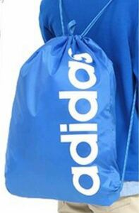 【新品未開封】アディダス(adidas)リニアロゴ ジムバッグナップサック 容量:約14L 縦47cm×横37cm (FSW96)