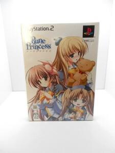 PS2 専用ソフト ルーンプリンセス 初回限定版 ベアトリス制服ver.