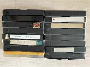 使用済みビデオテープ VHS 16本