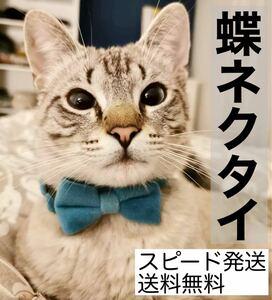 【新品】猫・犬・小動物 首輪 蝶ネクタイ リボン チョーカー