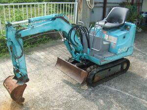 Mini Yumbo,IHI made,IS4GX, machine body weight 348., bucket capacity 0,01 cube meter, operation has been confirmed