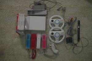Wii すぐに4人で遊べるセット 太鼓の達人(超ごうか版 太鼓・バチ同梱)、Wiiパーティー Wiiスポーツ、マリオブラザーズ他