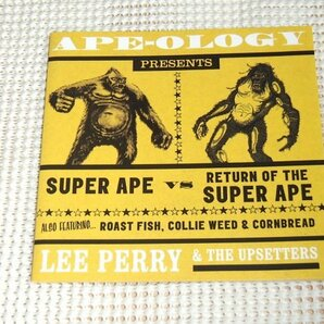 2CD Lee Perry & The Upsetters リー ペリー Ape-ology / super ape JA original音源 Scratch The Super Ape を収録 名盤3作+レア音源 低音
