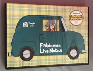 中古DVD-R フェビアン Fabienne/Live Notes at 東京・南青山マンダラ 2008.10.26 全11曲収録 古賀森男 レベッカ Rebecca