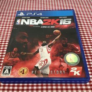 used PS4 「 NBA2K16 」/ パッケージ内用紙水濡れあり / コードは有効期限切れのため使えません / ケース多数スレ有り / PS4ソフト NBA