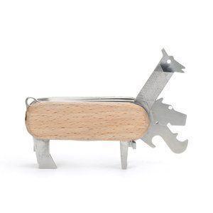 IZ46543S○Animal Multi-tool マルチツール 工具 アート 動物 アニマル ギフト プレゼント ナイフ ボトルオープナー 栓抜き