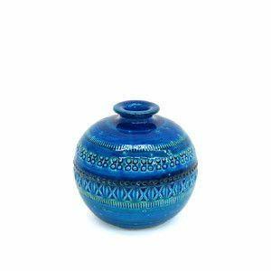 IZ47654S○BITOSSI ビトッシ リミニブルー フラワーベース S No.22 花瓶 ディスプレイ雑貨 アルド ロンディ イタリア製