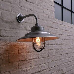 IZ46356S○NAVE-UM-SC ブラケットライト シルバー クリアガラス 防雨型 玄関ライト ウォールランプ 壁掛け灯 レトロ 外灯 LED対応 工業系