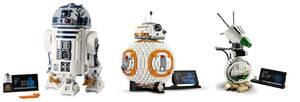 【新品未開封品3点セット】レゴ LEGO スター・ウォーズ R2-D2 75308 & BB-8 75187 & D-O 75278国内正規品