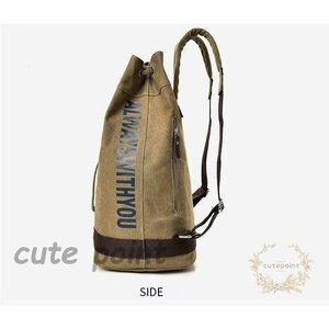 男女兼用 バッグ 2way バックパック リュック 大容量 登山 旅行 バッグ バックパック リュックサック 大容量 キャンバス 男女兼用 スポ