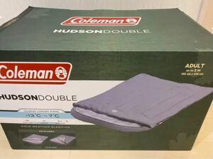 コールマン ハドソンダブル 2人用 寝袋 新品 -13℃まで対応 当日発送