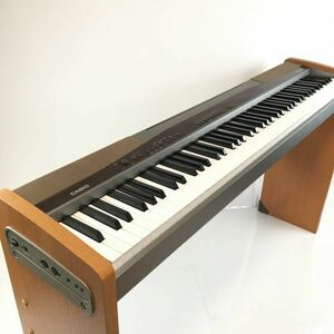 Y200N17063 動作確認済み CASIO PRIVIA PX-100 88鍵 2004年製 千葉直接引き渡し 電子ピアノ 木目調 カシオ 椅子セット ピアノ台 セット