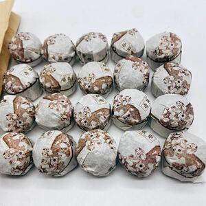 哈尼古茶 云南省 プーアル茶 puerfu 小沱茶 熟茶 20コ