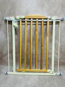 ベビーゲート W750~870mm つっぱり ベビーガード セーフティーゲート トリプルロック 赤ちゃん 子供 柵 フェンス H830mm