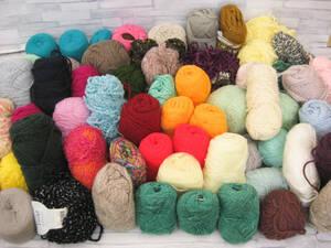 ジャンク◎使いかけ毛糸まとめ売り 色・糸の太さ色々◎A-1