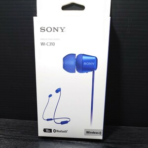 SONY ワイヤレス ステレオ ヘッドセット WI-C310 ブルー 新品未開封