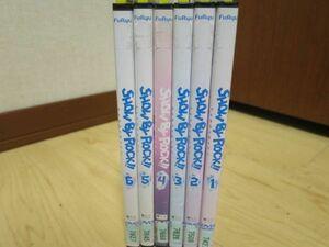 レンタル版 DVD SHOW BY ROCK!! 全6巻 送料無料 ケース無し発送