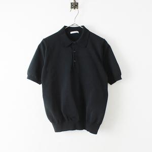 美品 SLOANE スローン 18Gポリエステル天竺 半袖ポロシャツ 2/ブラック【2400012416895】