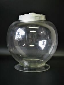 地球瓶/駄菓子瓶/たばこ瓶/古い/レトロ/ガラス瓶/アルミ蓋/アンティーク
