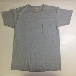 USA製 Goodwear グッドウェア ポケットTシャツ グレー Mサイズ