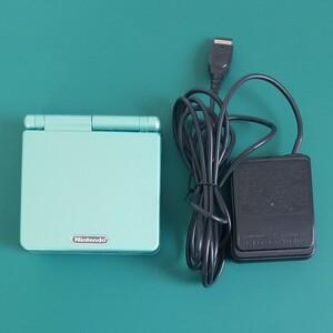 ゲームボーイアドバンスSP IPS V2液晶&充電器 おまけ付き