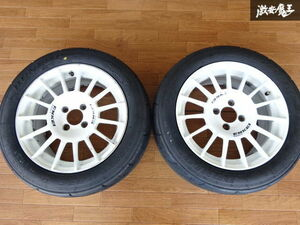 """""""Enkei"""" competition RT4 wheel 15 -inch 7J +48 PCD100 4 hole DL Direzza 195/55R15 2 ps Civic Roadster * shelves 1H13"""