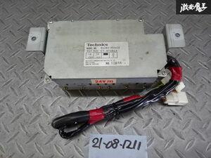 保証付 トヨタ純正 HJ61V ランドクルーザー 24V オーディオアンプ ユニット 86280-90A03 棚2W