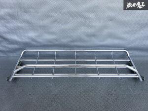 純正OP トヨタ 100系 ハイエース 室内用 吊り棚 ラック スチール製 単体 棚1E11