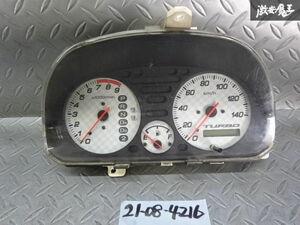 保証付 ホンダ純正 HM2 バモス ターボ 4WD スピードメーター 78100-S9R-Z612-M1 棚2R12