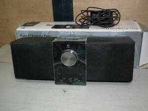 c07 ロジクール スピーカー ピュアファイエクスプレスプラス iPod/iPhone用 PF-300BK