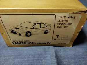 当時物 トーザイモデルファクトリー ランサーエボリューションⅣ 1/10 ラジコンボディ